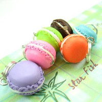 Mini Macarons Stitch Markers Set of 6 by beadpassion on Etsy