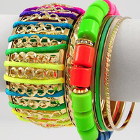 "30% off use promo code ""wanelo"" at checkout. Arm Party Statement Bracelet"