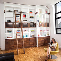 Bookcase The Brooklyn Heights Bookcase by GreenFurnitureDesign