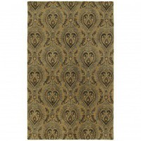 Kaleen Magi Mount Sinai Graphite Contemporary Rug - 7205-68 - Wool Rugs - Area Rugs by Material - Area Rugs