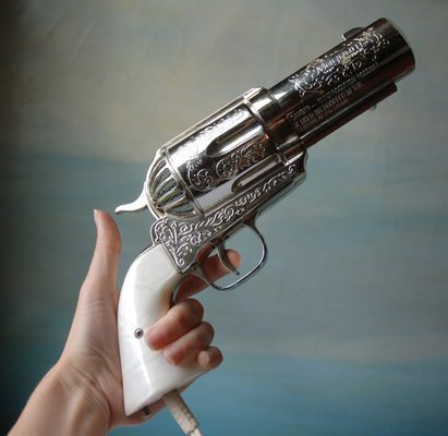 357 Magnum Hair Dryer Vintage Novelty Pistol