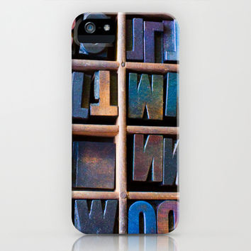 Wood Type II iPhone & iPod Case by Legends of Darkness Photography