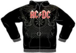 ROCKWORLDEAST - AC/DC, Hoodie, Black Ice Allover