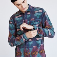 Stapleford Printed Flannel Button-Down Shirt - Urban Outfitters