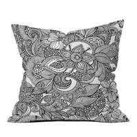 Doodles Throw Pillow | zulily