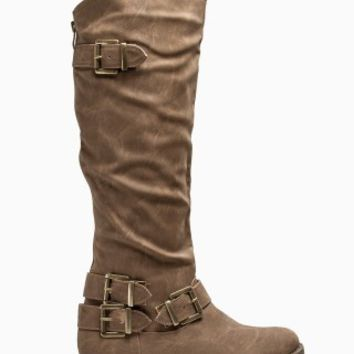 BUCKLE RIDER BOOTS