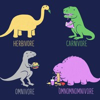 &quot;Omnomnomnivore&quot; - Threadless.com - Best t-shirts in the world