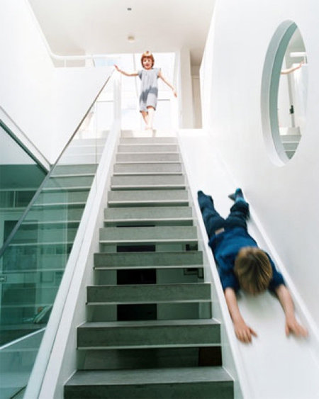 Fancy - Staircase Slide