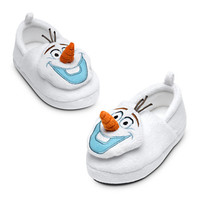 Olaf Plush Slippers - Frozen