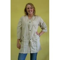 Art Smock- X-Large Champagne (Light Buff Color)