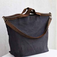 Jo Canvas + Leather Tote Bag - Urban Outfitters