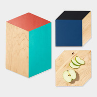 3-D Shape Cutting Boards | MoMA