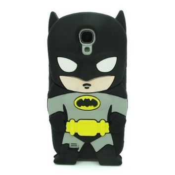Yuersal 3D Batman Silicone Jelly Soft Skin Case Cover for Samsung Galaxy S4 mini i9190 i9195