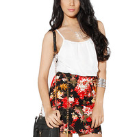 Papaya Clothing Online :: FLORAL CHAIN BELTED DRESS