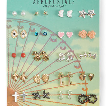 Assorted Stud Earring 20-Pack