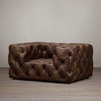 Soho Tufted Leather Chair