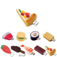 HDE Novelty Food Shaped USB Flash Drive (8GB, Pizza Slice)