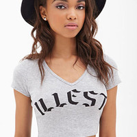Illest Ribbed Crop Top
