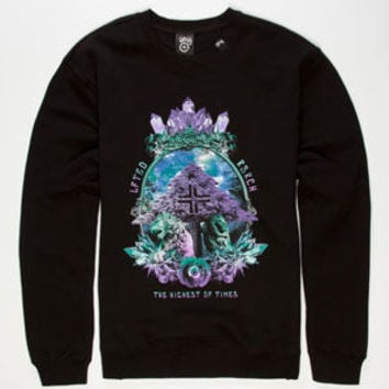 Lrg Highest Of Times Mens Sweatshirt Black  In Sizes