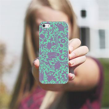 Synapses (Turquoise) iPhone 5s case by Nick Nelson | Casetify