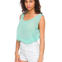 Chiffon Tank | Shop American Apparel