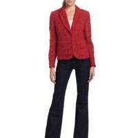 Jones New York Women's Petite Collar Jacket