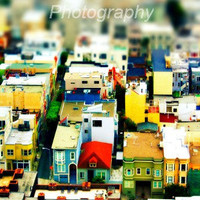San Francisco Photo City Photo Mini City Large by SSCphotography