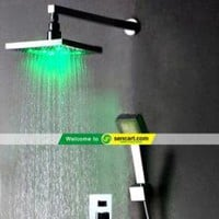 Chrome Wall-mount LED Shower Faucet - Prices & Buy at ShopSimple.com