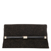 440 Envelope Diamond Dust Leather Clutch
