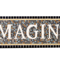 Mosaic Wall Decor, IMAGINE, Subway Art
