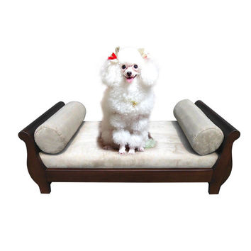D-Art Collection Sleigh Dog Chair