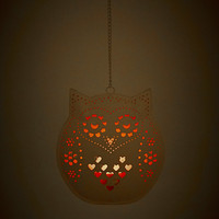 Owl Candle Holder - Urban Outfitters