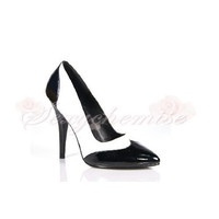 Mature Patent Leather Casual Pointed Toe Pumps [TQL120321115] - £44.59 :