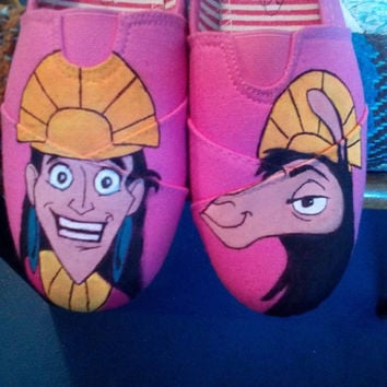 The Emperor's New Groove Shoes