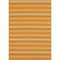 Martha Stewart Rugs Transitional Sunstripe Cinnamon Contemporary Rug - MSR1132A - Wool Rugs - Area Rugs by Material - Area Rugs