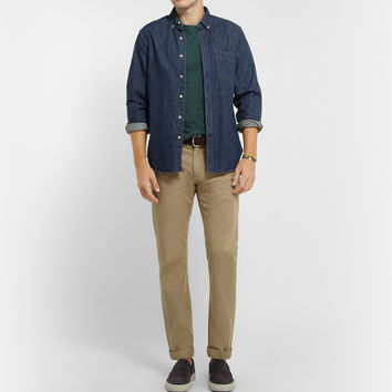 J.Crew - Flagstone Slim-Fit Slub Cotton-Jersey T-Shirt | MR PORTER