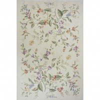 Momeni Spencer 18 Beige Country/Floral Rug - SP-18-Beige - Wool Rugs - Area Rugs by Material - Area Rugs