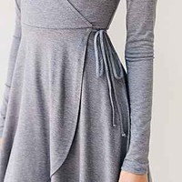 Kimchi Blue Surplice Wrap Dress - Urban Outfitters