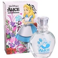 Disney Alice in Wonderland 1.7 Fl Oz Fragrance in Glass Bottle Garden Box