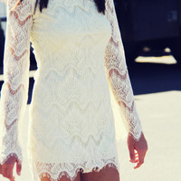 Lace & Tie Dress