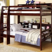 Ward Big Bookcase Bunk Beds