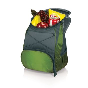 SheilaShrubs.com: PTX Cooler Backpack - Leaf Green/Dark Grey 633-00-122-000-0 by Picnic Time : Coolers