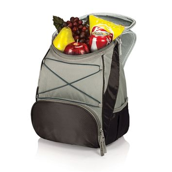 SheilaShrubs.com: PTX Cooler Backpack - Black/Grey 633-00-175-000-0 by Picnic Time : Coolers