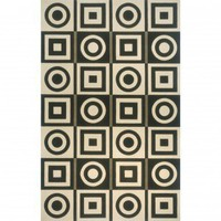 Momeni Elements 19 Black Rug - EL-19 - Wool Rugs - Area Rugs by Material - Area Rugs