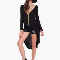 Night Prowl Shirt Dress