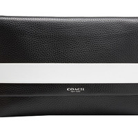 COACH Bleecker Edgepaint Leather Clutch