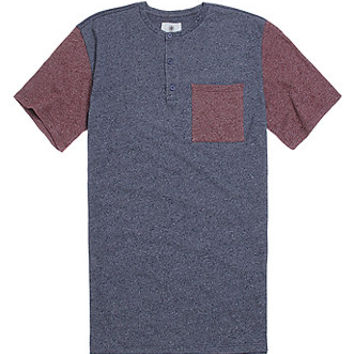 On The Byas Chase Colorblock Henley T-Shirt at PacSun.com