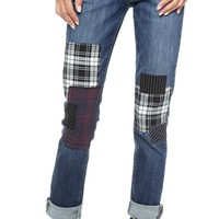 Paige Denim Jimmy Jimmy Jeans with Patches
