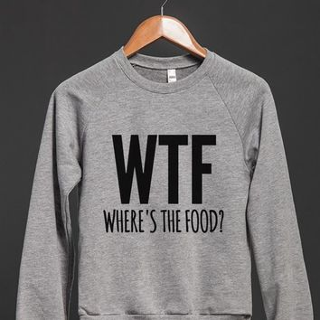 WTF - WHERE'S THE FOOD SWEATSHIRT SWEATER ID8150708