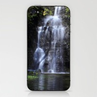 Swallet Falls iPhone &amp; iPod Skin by John Dunbar | Society6